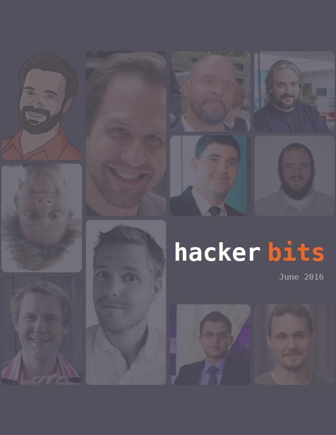 Hacker Bits Cover, June 2016