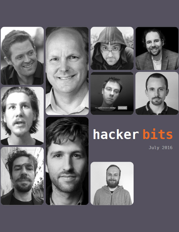Hacker Bits Cover, July 2016