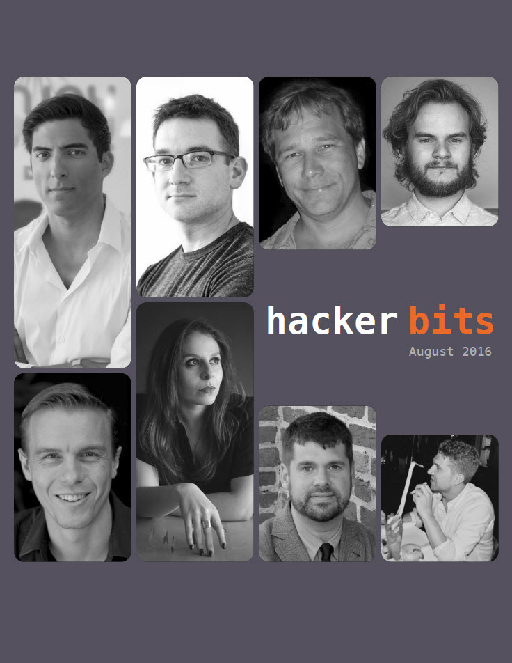 Hacker Bits Cover, August 2016