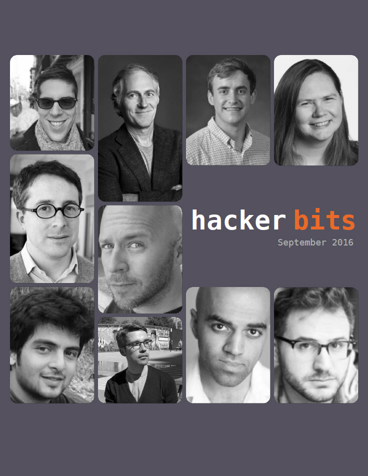 Hacker Bits Cover, September 2016