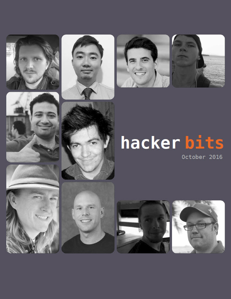 Hacker Bits Cover, October 2016