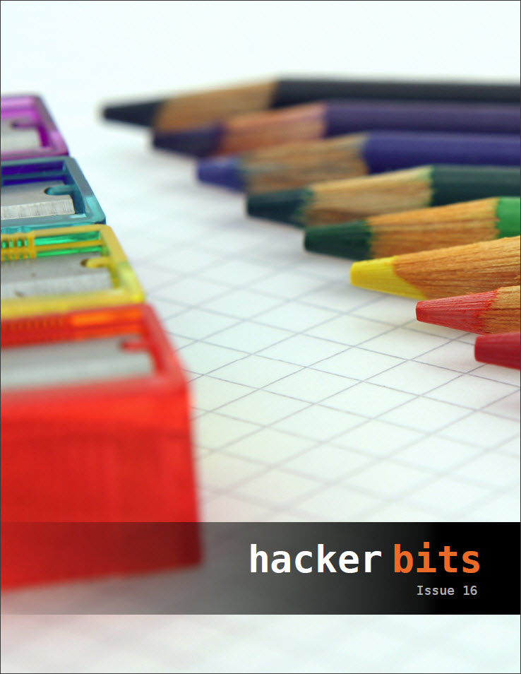 Hacker Bits, Cover Issue 16
