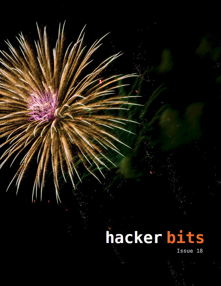 Hacker Bits Cover, Issue 18