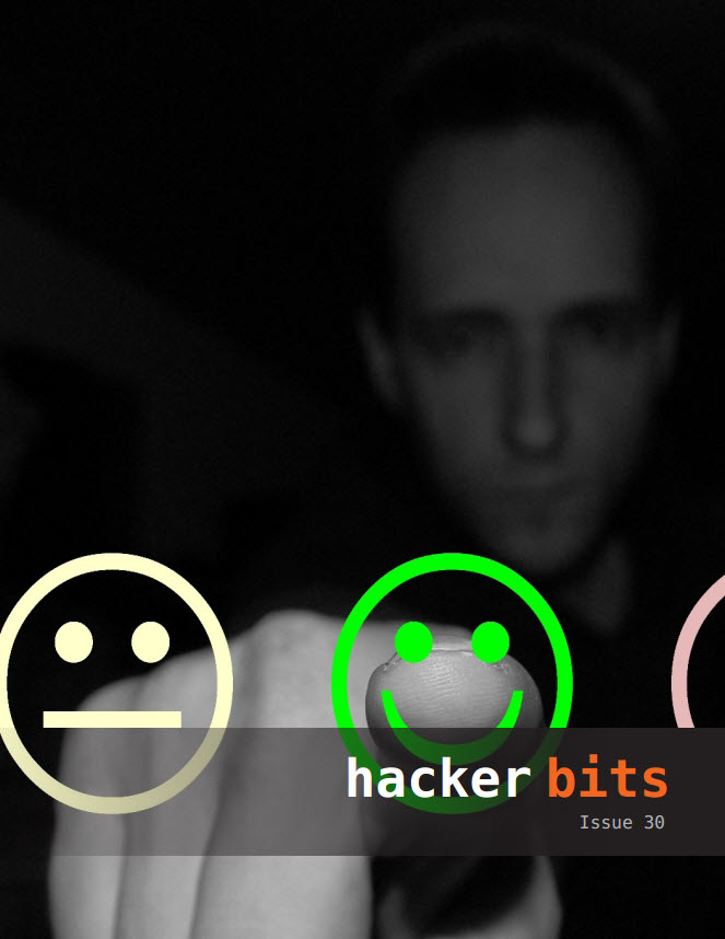 Hacker Bits Cover, Issue 30