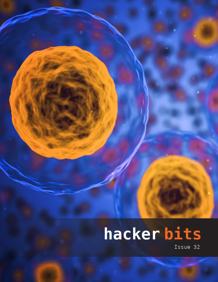 Hacker Bits Cover, Issue 32