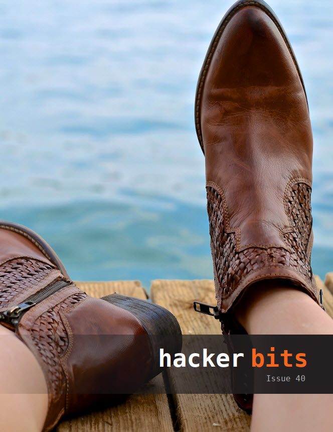 Hacker Bits Cover, Issue 40