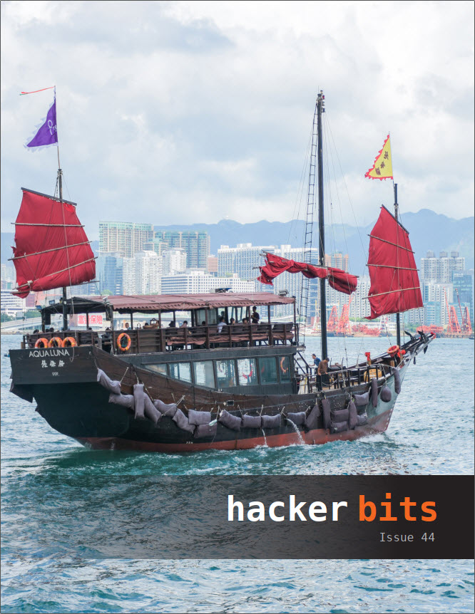 Hacker Bits Cover, Issue 44