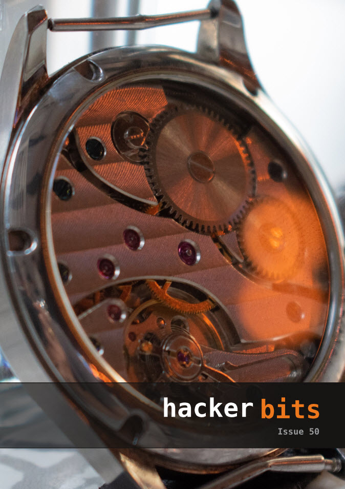 Hacker Bits Cover, Issue 50