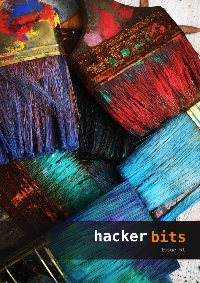 Hacker Bits Cover, Issue 51