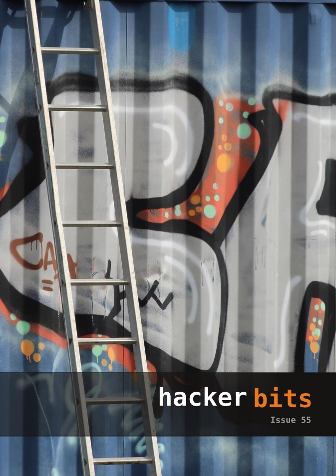 Hacker Bits Cover, Issue 55