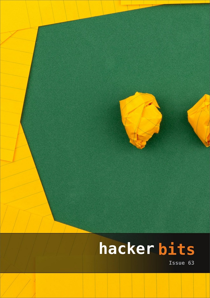 Hacker Bits Cover, Issue 63
