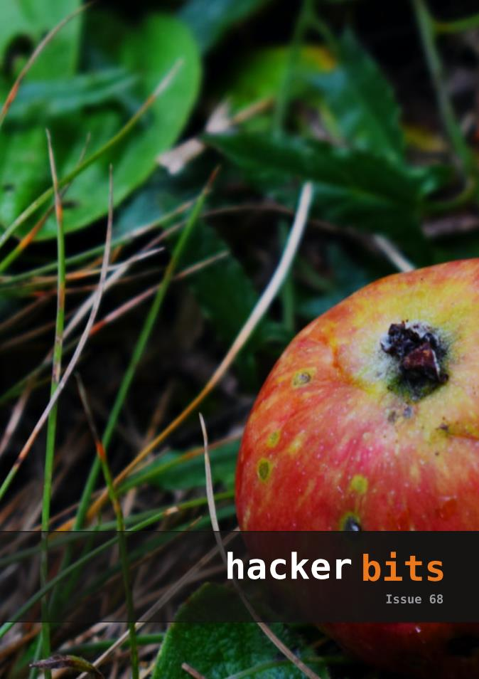 Hacker Bits Cover, Issue 68